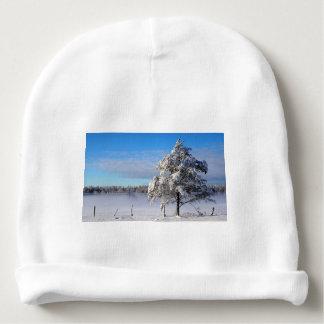 Winter Snow St Joseph Island Baby Beanie