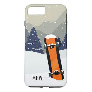 Winter Snowboard custom monogram phone cases