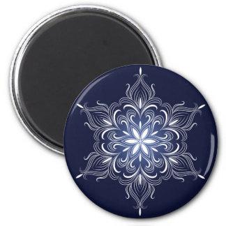 Winter Snowflake Magnet