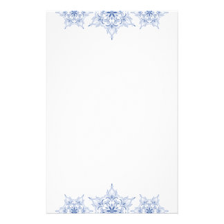 Winter Snowflake Pretty Stationery