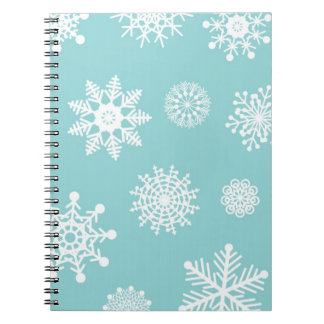 Winter Snowflakes Notebooks