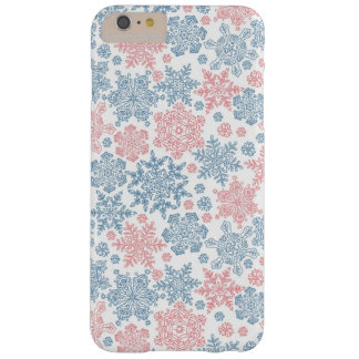 Winter Snowflakes Pattern Barely There iPhone 6 Plus Case
