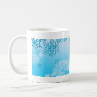 Winter Snowflakes Poem coffee mug