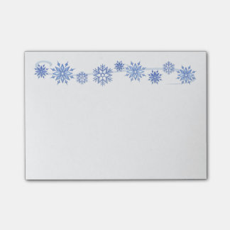 Winter Snowflakes Post-it-Notes Post-it Notes