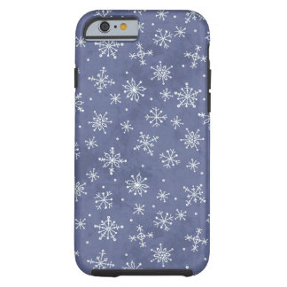 Winter Snowflakes Tough iPhone 6 Case