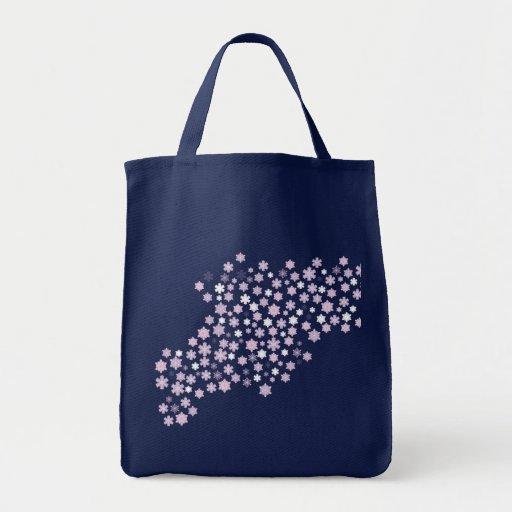 Winter Snowflakes Wedding Tote Bag