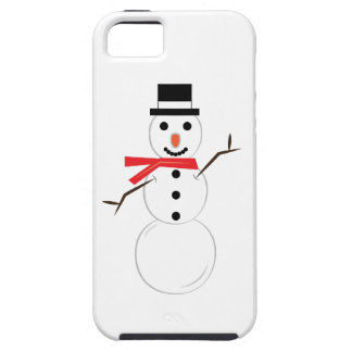 Winter Snowman iPhone 5/5S Covers