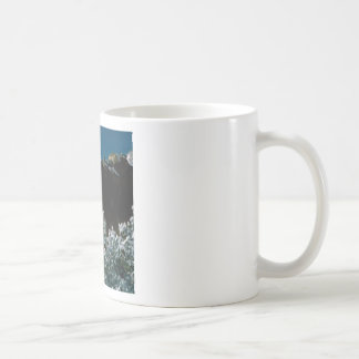 winter snows in the desert coffee mug