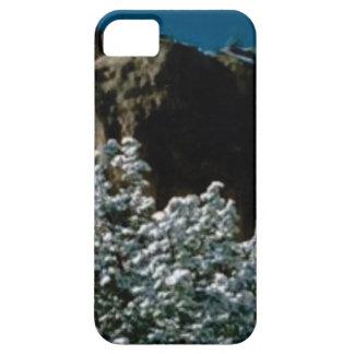 winter snows in the desert iPhone 5 case