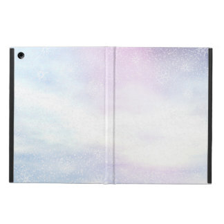Winter snowy day background - 3D render Case For iPad Air