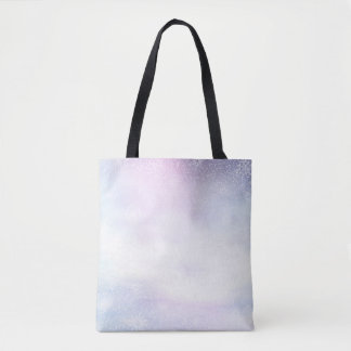 Winter snowy day background - 3D render Tote Bag
