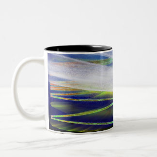 "Winter Solstice ""Arctic Light"" Yule coffee mug"