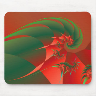 Winter Solstice Cool Abstract Fine Art Fractal Mouse Pad