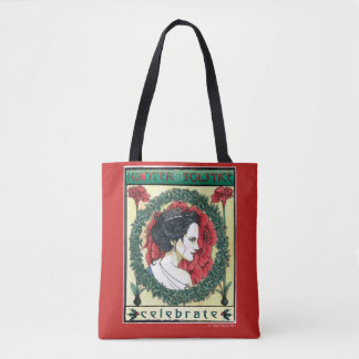Winter Solstice holiday shopping tote