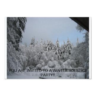 WINTER SOLSTICE INVITE