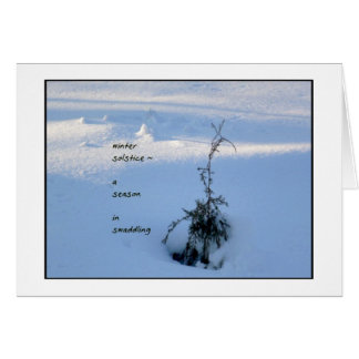 Winter Solstice Notecard Note Card