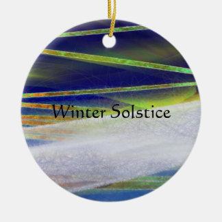 Winter Solstice ornament arctic light yule