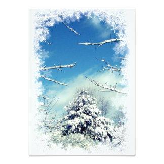 Winter Solstice Party 13 Cm X 18 Cm Invitation Card