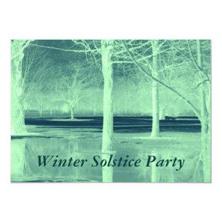 Winter Solstice Party Invitation