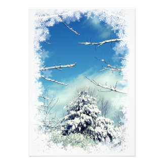 Winter Solstice Party Personalized Invitations