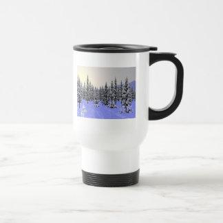 Winter Solstice Stainless Steel Travel Mug