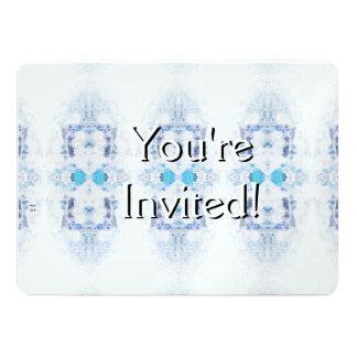Winter Solstice Yule Snow Christmas 14 Cm X 19 Cm Invitation Card