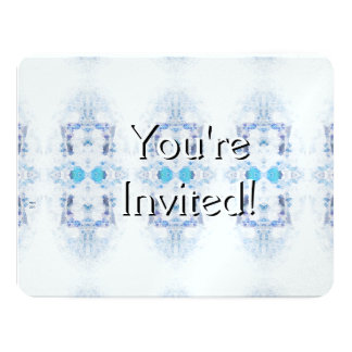 Winter Solstice Yule Snow Christmas 11 Cm X 14 Cm Invitation Card