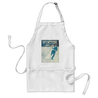 Winter Songbook Cover Aprons