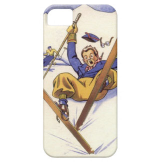 Winter sports - A bit of a tumble iPhone 5 Covers