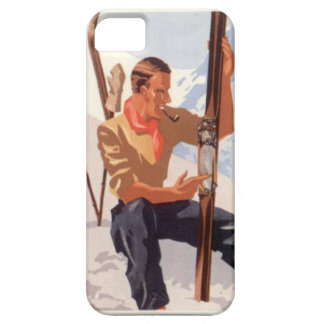 Winter sports - Adjusting the skis Case For The iPhone 5