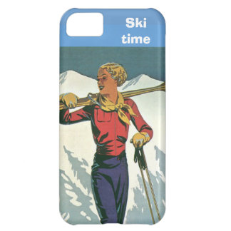 Winter sports - Ski time Case For iPhone 5C