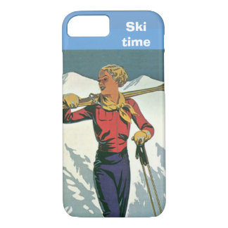 Winter sports - Ski time iPhone 8/7 Case