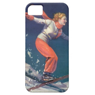 Winter sports - The joy of skiing Barely There iPhone 5 Case