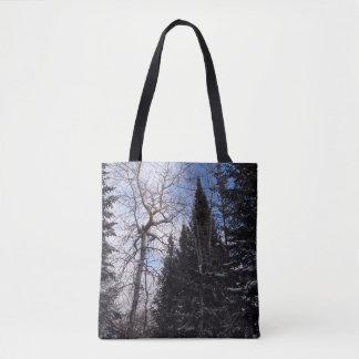 Winter Spruce Camino St Croix Tote Bag