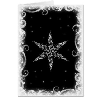 Winter Star Card