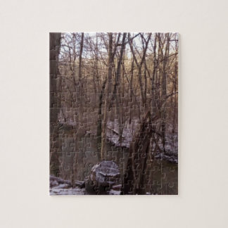 Winter Sugar Creek (from higher up) Puzzles