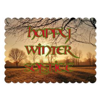 Winter Sun: Solstice Invitation to a Wiccan Event