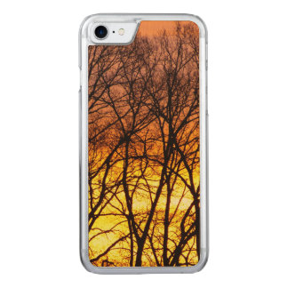 Winter Sunrise Carved iPhone 8/7 Case