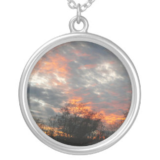 Winter Sunset Necklace