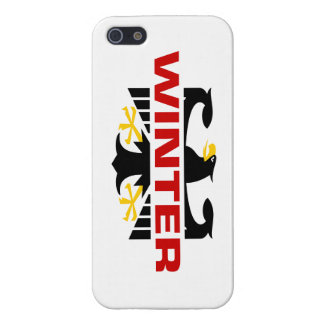 Winter Surname iPhone 5 Cases