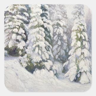 Winter Tale, 1913 Square Sticker