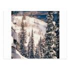Winter The Calm Before The Storm Brighton Utah Postcard