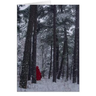 Winter-time Seasons greetings Greeting Card