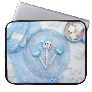 Winter Time Treats and Goodies Laptop Sleeve