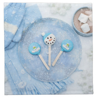 Winter Time Treats and Goodies Napkin