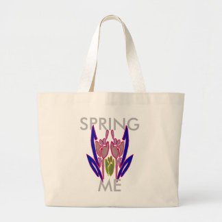 Winter Timings Beautiful Amazing Lovely colors Art Large Tote Bag