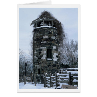 Winter Tower Card