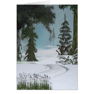 Winter Trail Card