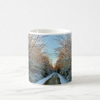 Winter Trail Coffee Mug