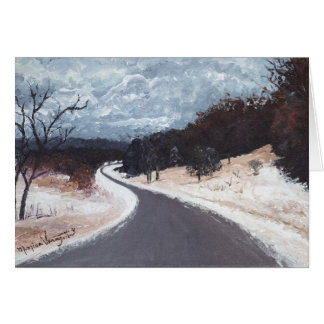 Winter Travels Greeting Card